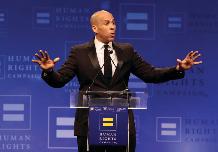 No Holds Barred: Cory Booker, Hebrew and support for Israel