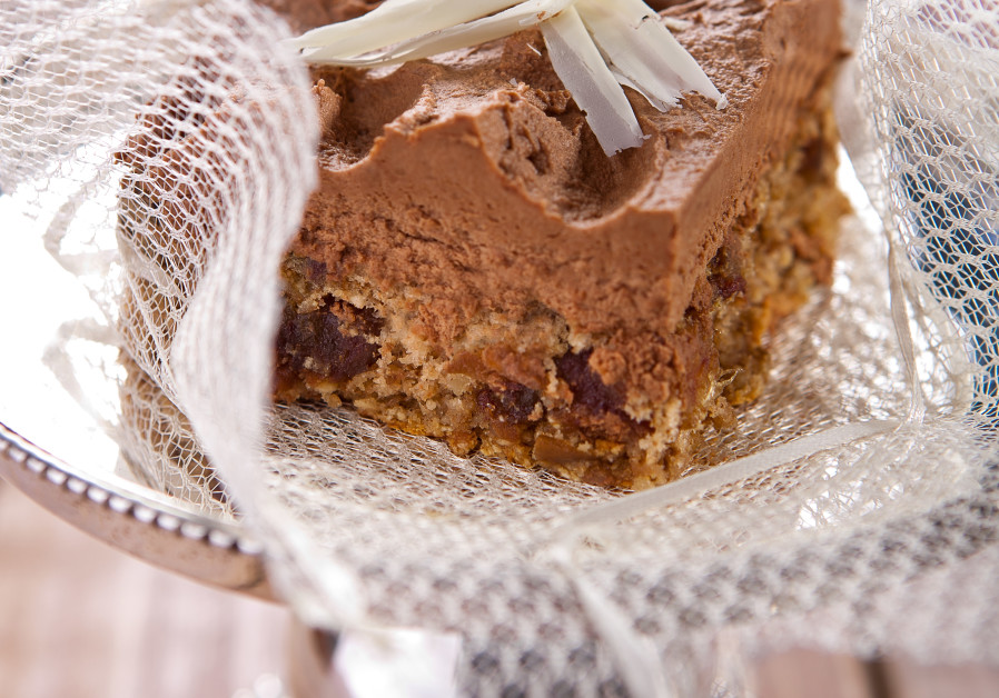 Nut and date cake (Credit: Anatoly Michaelo)