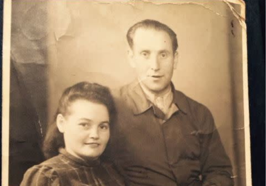 Henryk and Hanna Arfa, the writer's grandparents, after the war