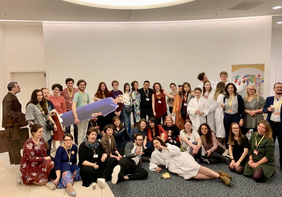Participants in the Limmud FSU festival in St. Petersburg, Russia (Courtesy)