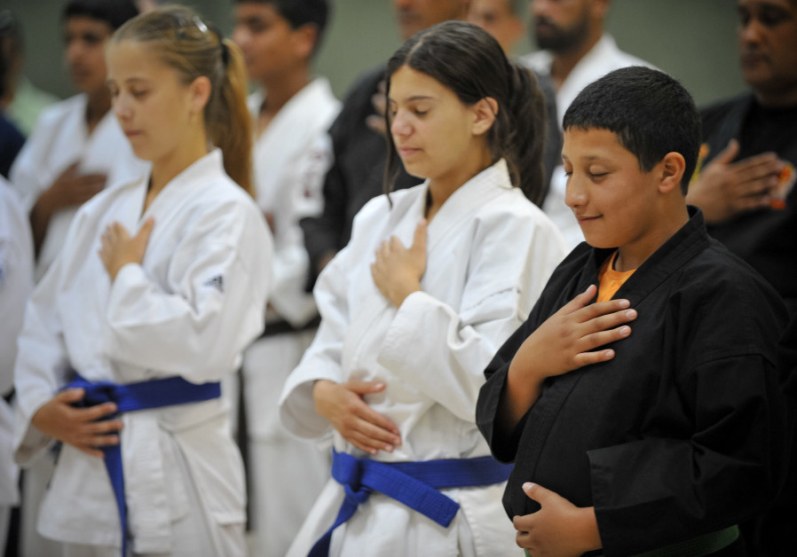 Israeli children mark International Day of Sport and Peace