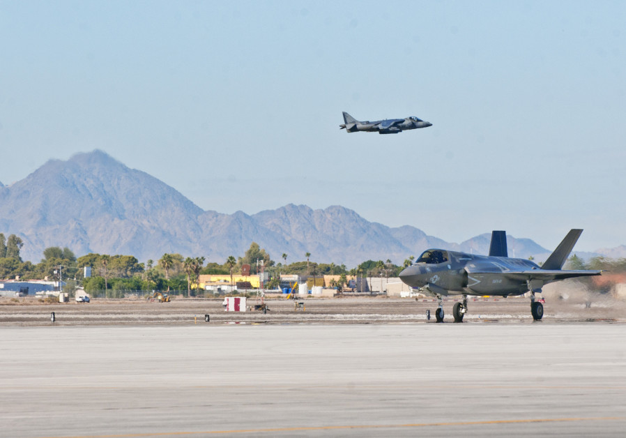 Turkish F-35 delivered to training base in Arizona, official says