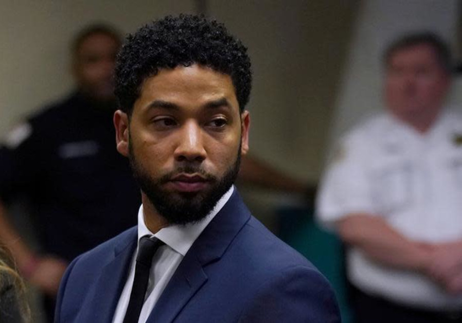 Actor Jussie Smollett makes a court appearance