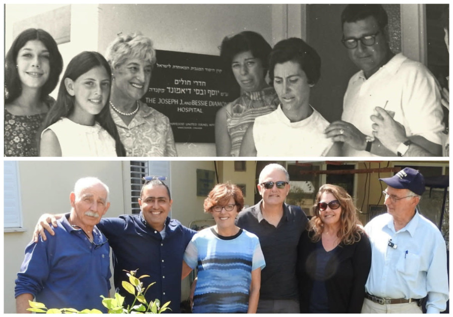 Granddaughter returns to Kibbutz 50 years after family built clinic