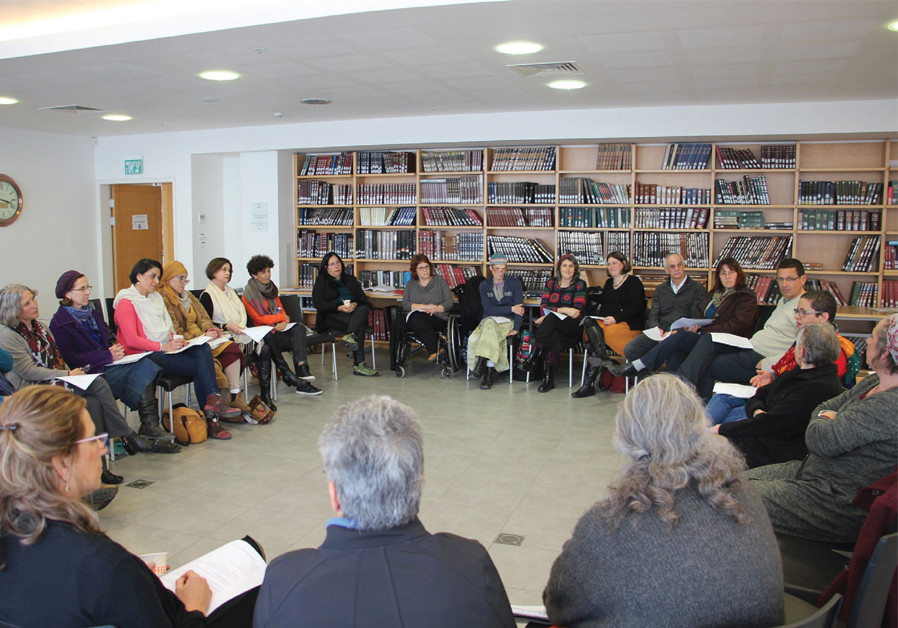 AT MARPEH'S annual conference for caregivers at the Schechter Institute of Jewish Studies. (Courtesy)