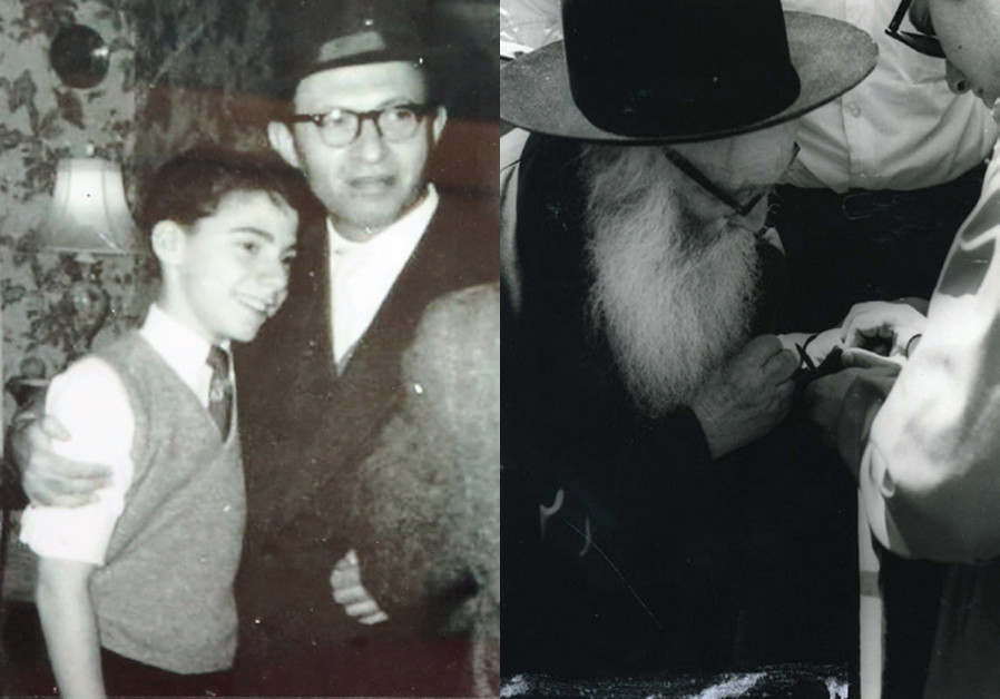 MENACHEM BEGIN was a frequent visitor to Benji's home when he was growing up / BENJI HELPED his grandfather tear kriyah (rip his coat in mourning) immediately after the Six Day War, when Reb Aryeh was among the first to visit the Kotel. (Courtesy)