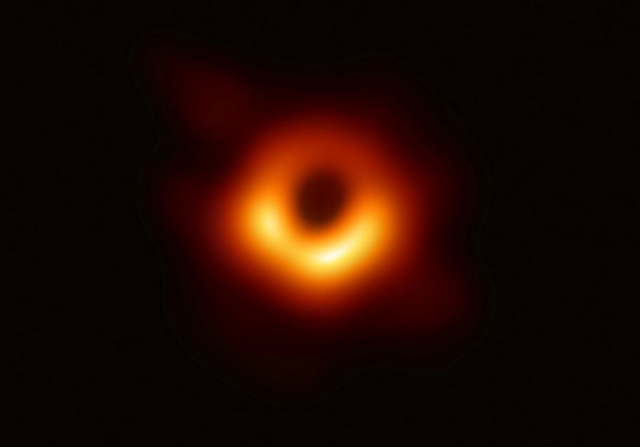 First ever photo of a blackhole