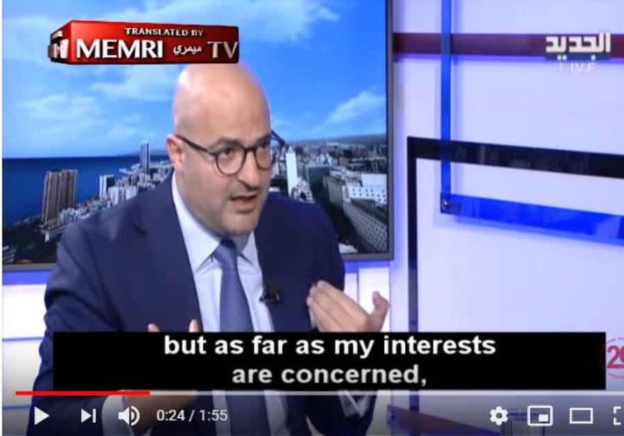 Lebanese journalist explains why he supports Benjamin Netanyahu.