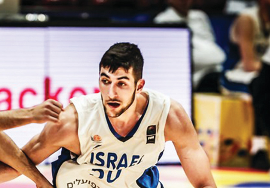 YOVEL ZOOSMAN hopes to be the next Israeli to play in the NBA, declaring for the June 20 draft this