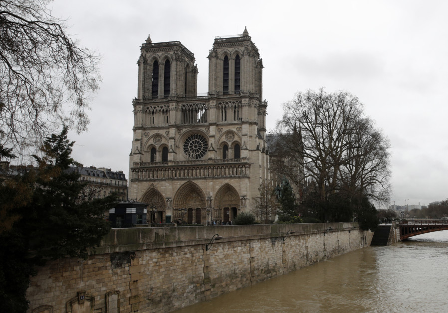 A look inside Paris' Notre Dame Cathedral after the fire