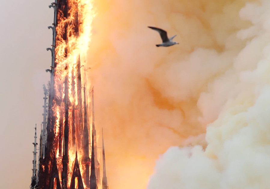 France invites designers to submit plans to rebuild Notre Dame Spire