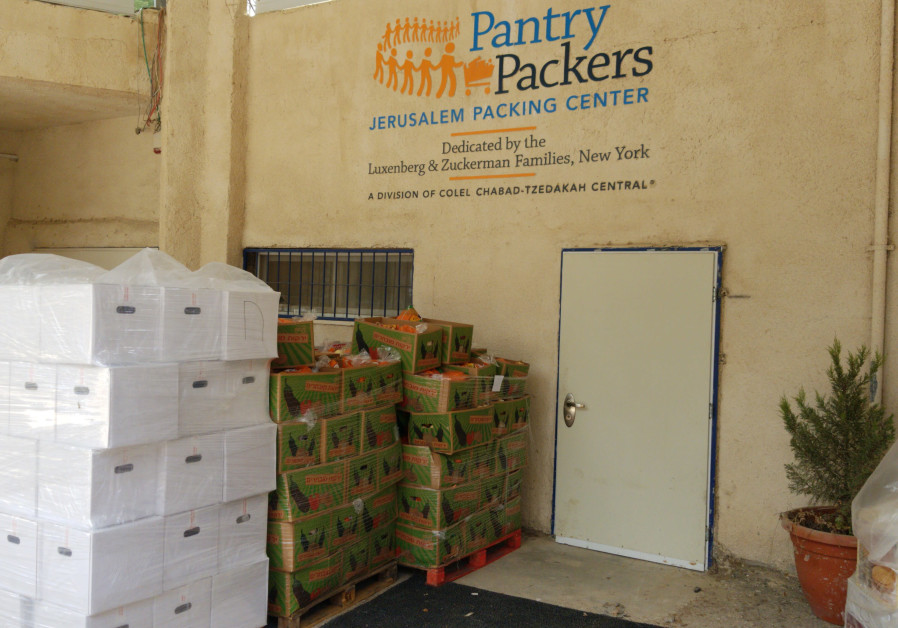 Colel Chabad to distribute 22,000 Passover meals.