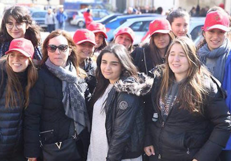 Student delegation from Morocco at March of the Living