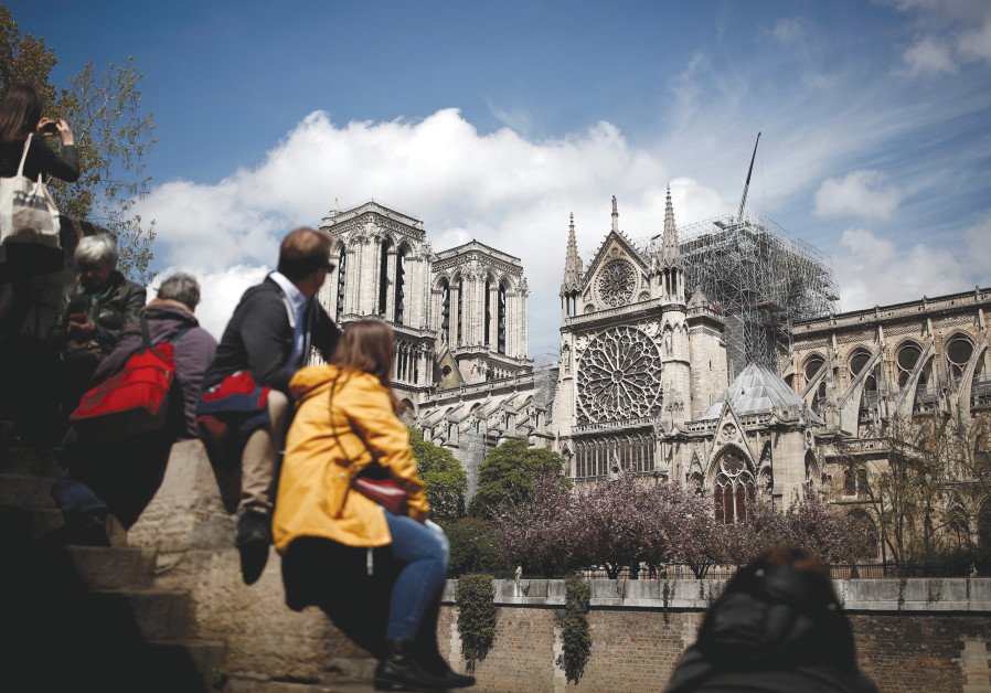 Notre Dame will be rebuilt – but most European Jewish sites never will be
