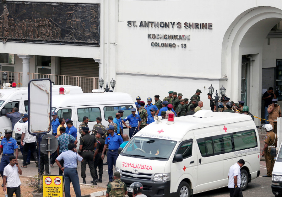Islamic State claims responsibility for Sri Lanka church attack
