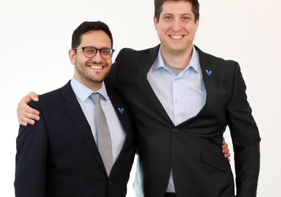 Viz.ai co-founders Dr. Chris Mansi and David Golan (Credit: Viz.ai)