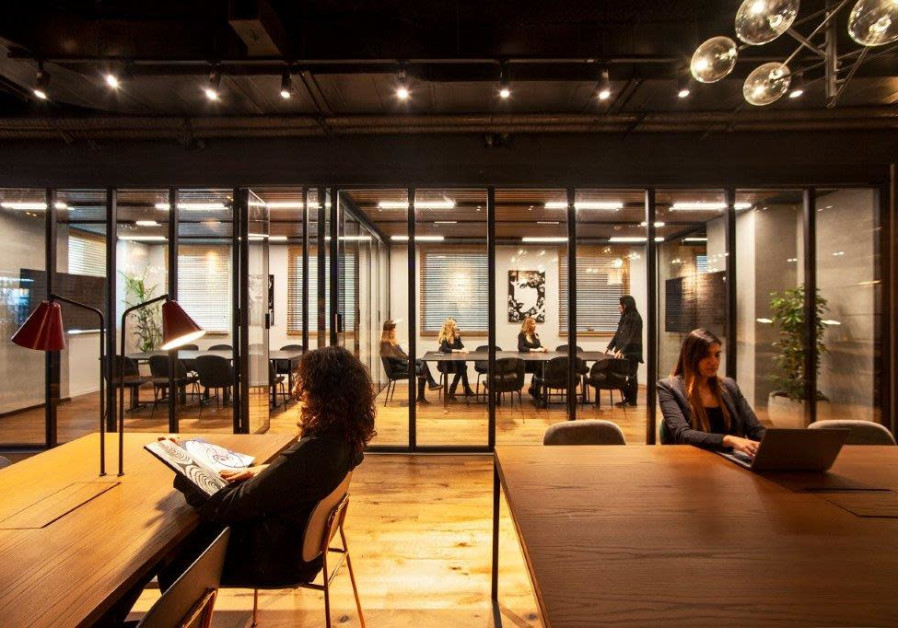 Panthera's shared workspace for women in Tel Aviv (Credit: Shai Gabriely)