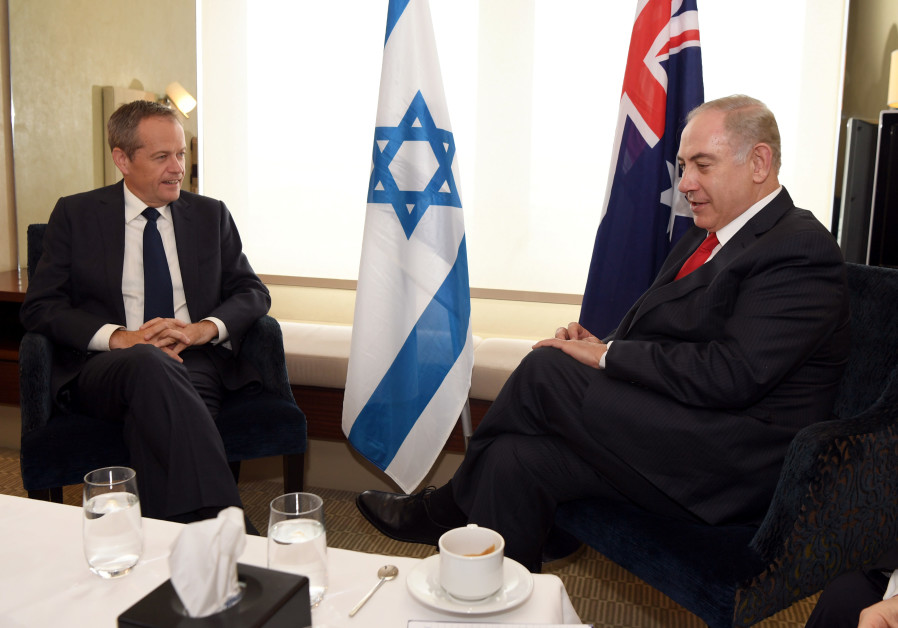 Three weeks before Australian elections, parties diverge on Israel issues