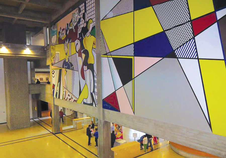 WHETHER IT'S Lichtenstein or Agam, the Tel Aviv Museum of Art will challenge your perceptions.