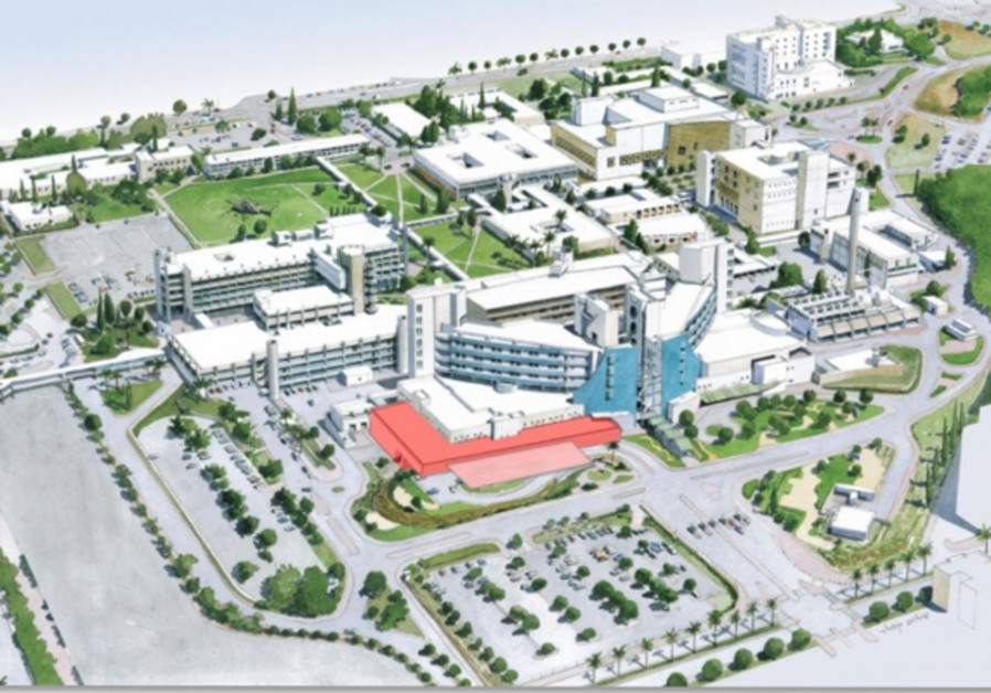 Emergency Department Planned Expansion in Red.
