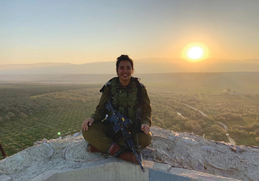 Aryot Yarden (The Lions of Jordan) company leader Capt. Sapir hoped Passover will be a unifying experience for her soldiers (Credit:  IDF SPOKESMAN'S UNIT)