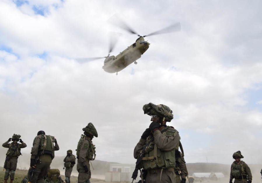 IDF Paratroopers take part in Allied Spirit X drill exercise