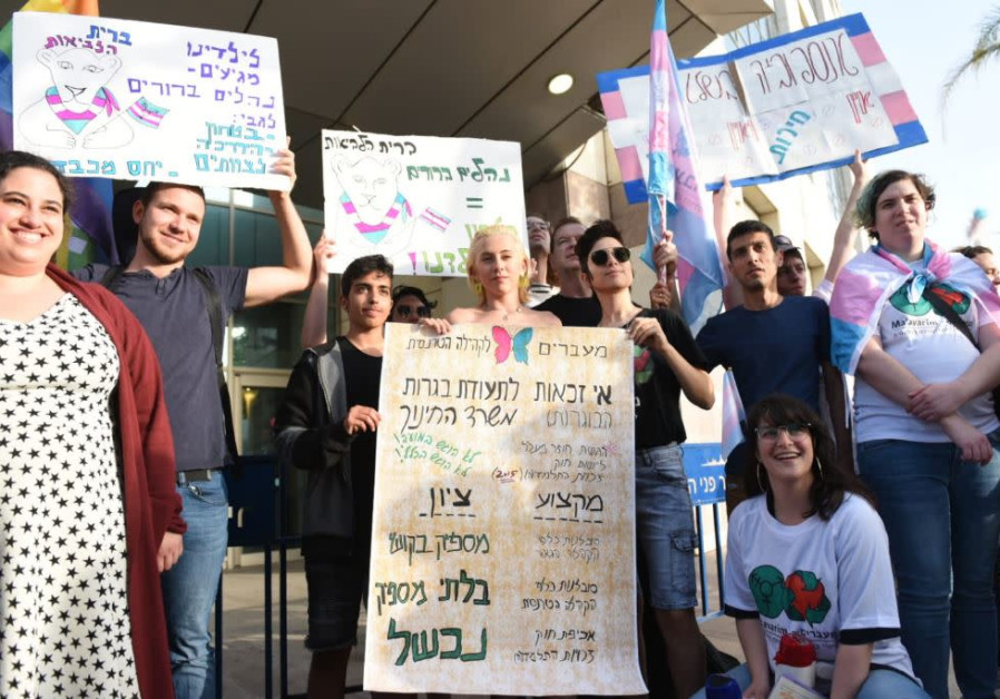 Pro-Transgender youth protest against bullying
