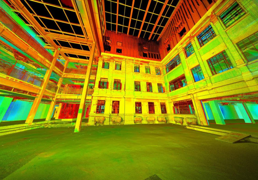 WeWork uses cutting-edge laser technology to map new workspaces