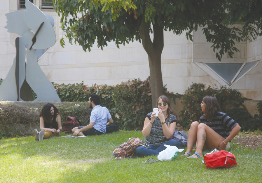 STUDENTS AT Hebrew University in Jerusalem