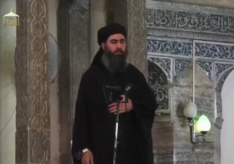 A man purported to be the reclusive leader of the militant Islamic State Abu Bakr al-Baghdadi
