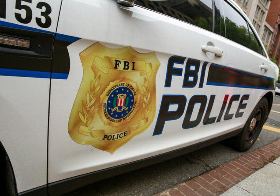 An FBI vehicle