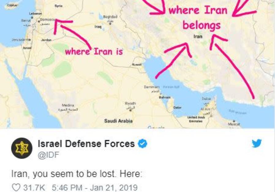 IDF uses 'snark' on social media