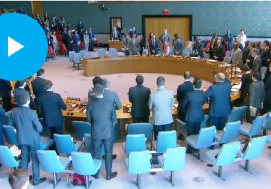 UNSC observes moment of silence