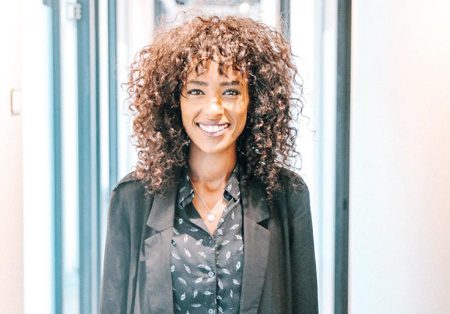 DIKLA BASOFKAD, a leader in the Struggle to Save Ethiopian Jewry organization. (Credit: HILA KENIN)
