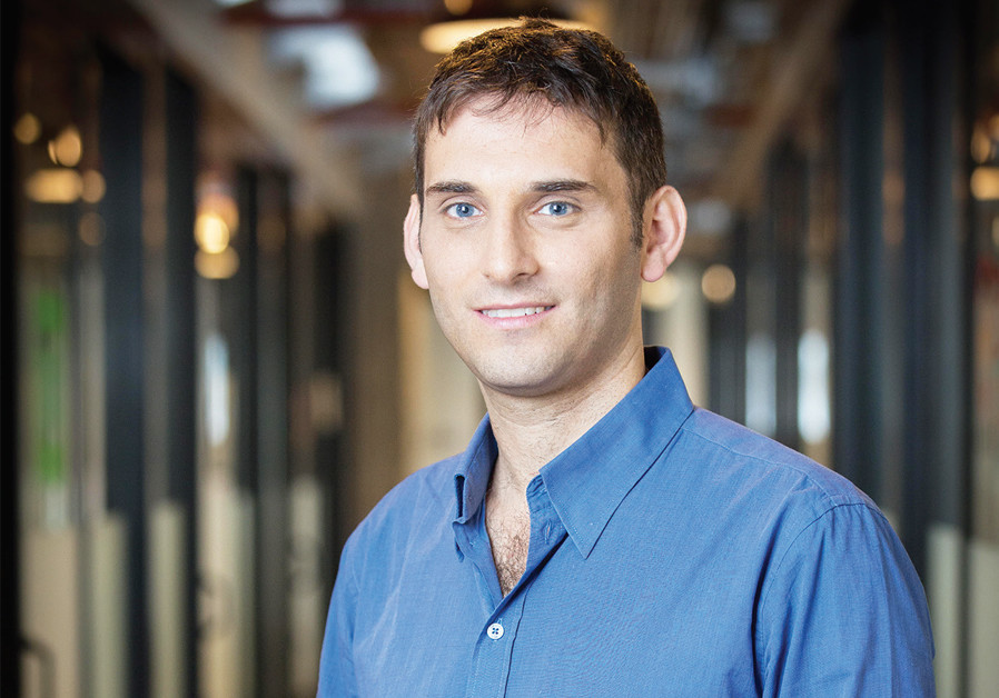 Medigate CEO Jonathan Langer. ( Credit: MAXIM DINSHTEIN)