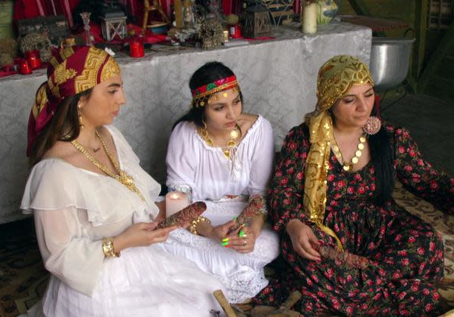 A family of Romanian witches use a video call to contact a client in India paying for a love spell
