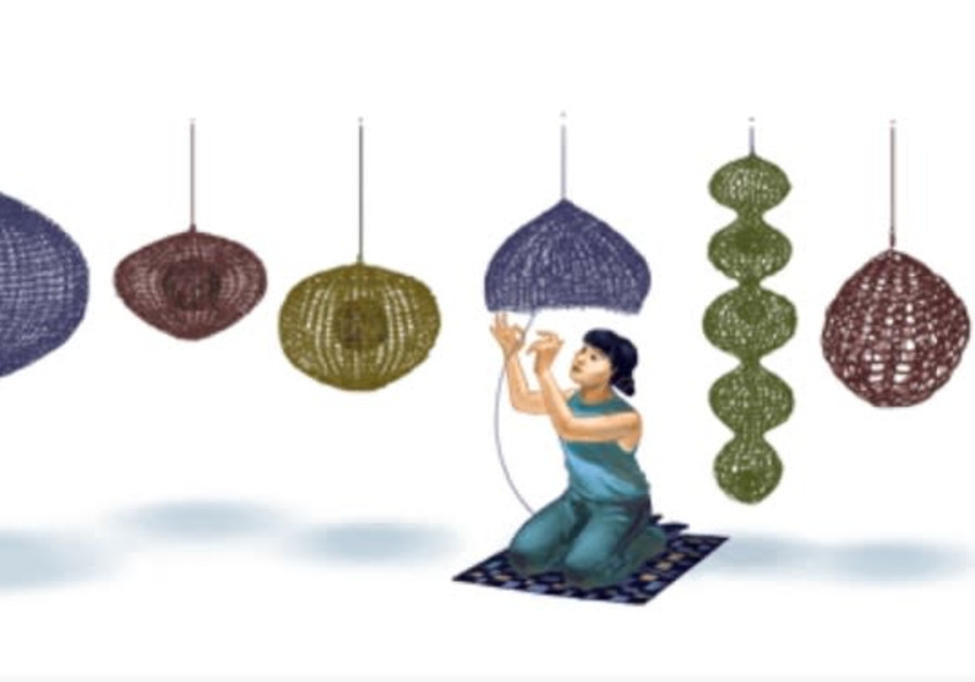 Ruth Asawa honored as Wednesday's Google Doodle