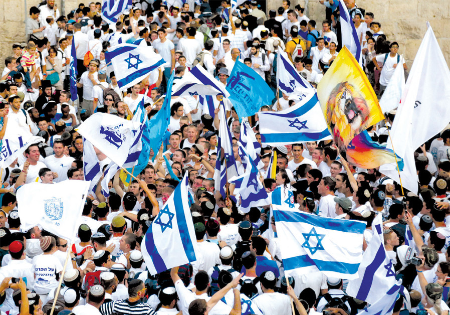 CELEBRATING JERUSALEM Day: 'Israel is not special because it is a democracy. Israel is special because it is the only Jewish state on the face of this planet.' (Credit: MARC ISRAEL SELLEM)