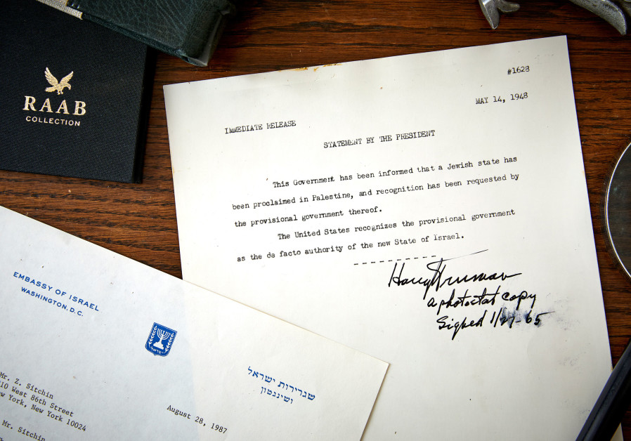 The declaration that Harry Truman signed in 1965