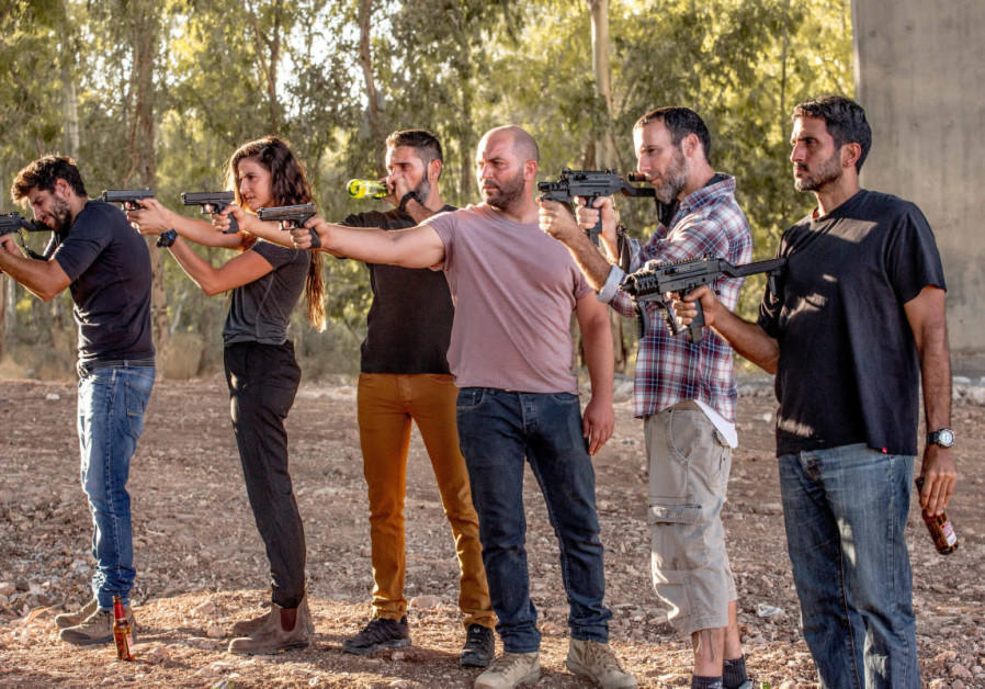 A scene from Fauda's season two