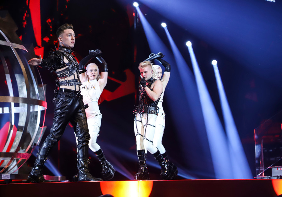 Hatari holds its first rehearsal at the Expo Tel Aviv on Sunday