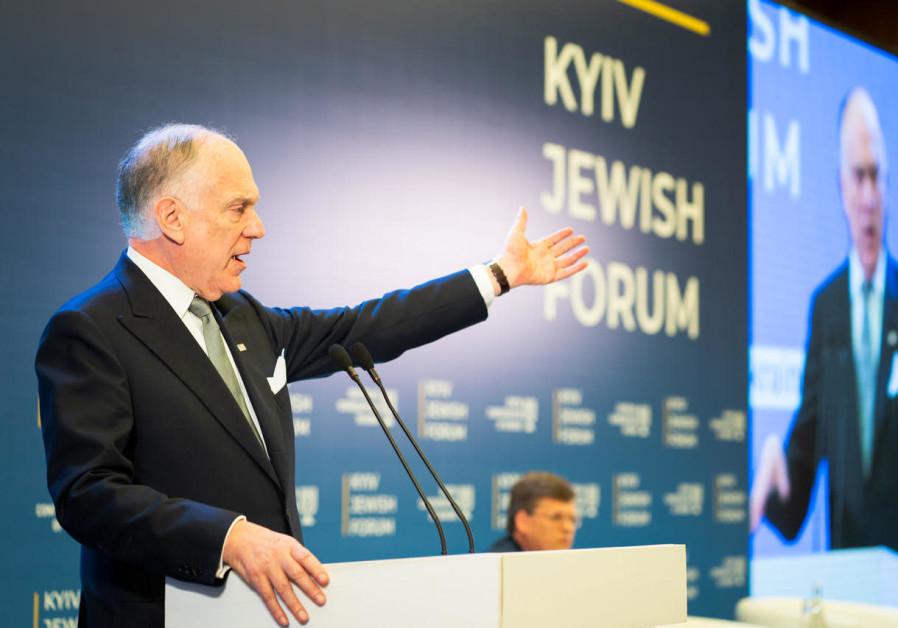 Lauder calls for religious faiths to fight antisemitism, xenophobia