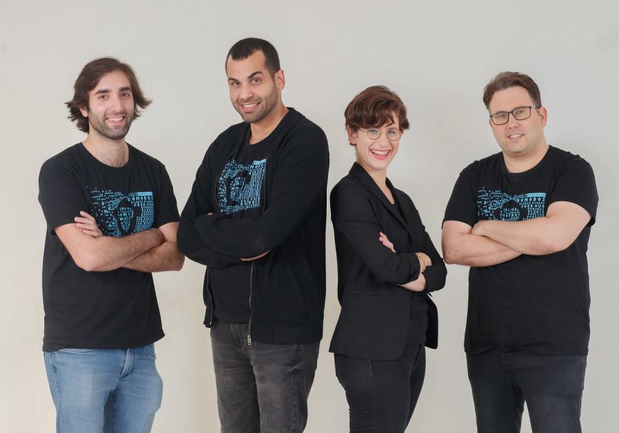 (From left) Bonobo.ai co-founders Ohad Hen, Idan Tsitiat, Efrat Rapoport and Barak Goldstein