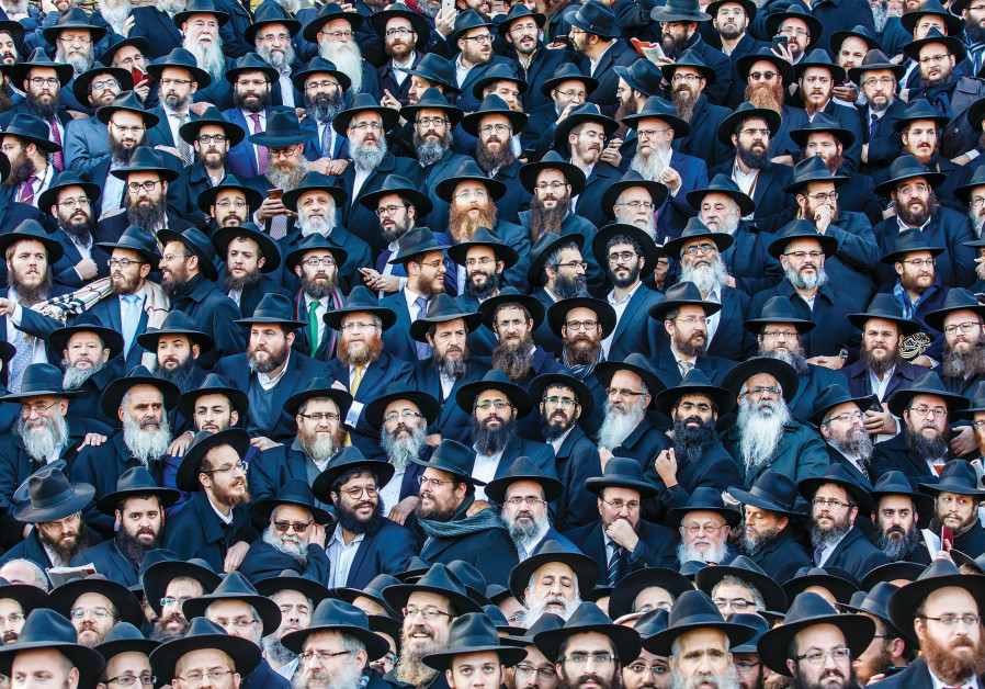 RABBIS AT the International Conference of Chabad Emissaries, in Brooklyn, in 2016.