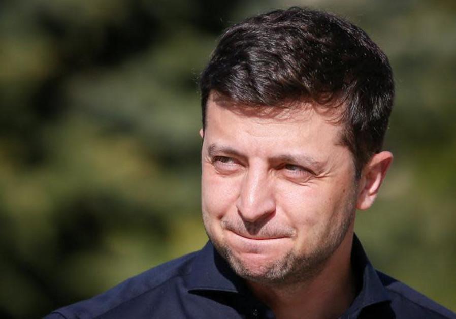 Ukraine's President-elect Volodymyr Zelenskiy