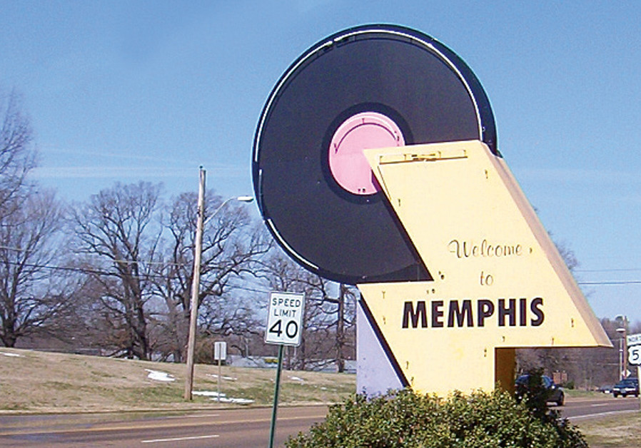 THE ENTRANCE to the city of Memphis. (Credit: REUTERS)