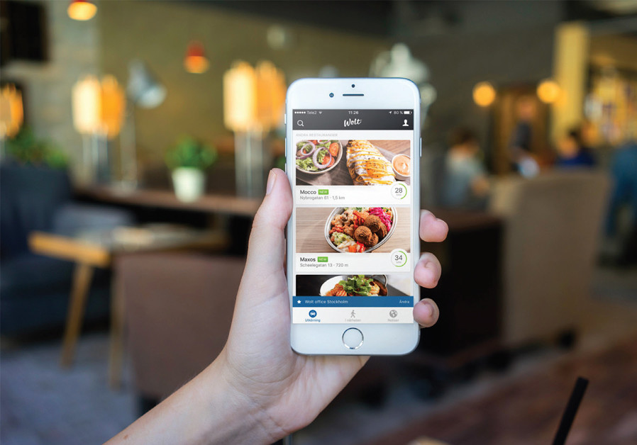 TO SUPPLEMENT his income, Gal Beckman works as a messenger for Wolt, a Finland-based online food ordering and delivery service that recently began operating in central Tel Aviv. (Credit: PR)