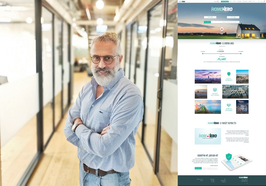 YUVAL OZERI of Ramat Gan uses the Home Hero platform for his side hustle as a real-estate agent. (Credit: PR)