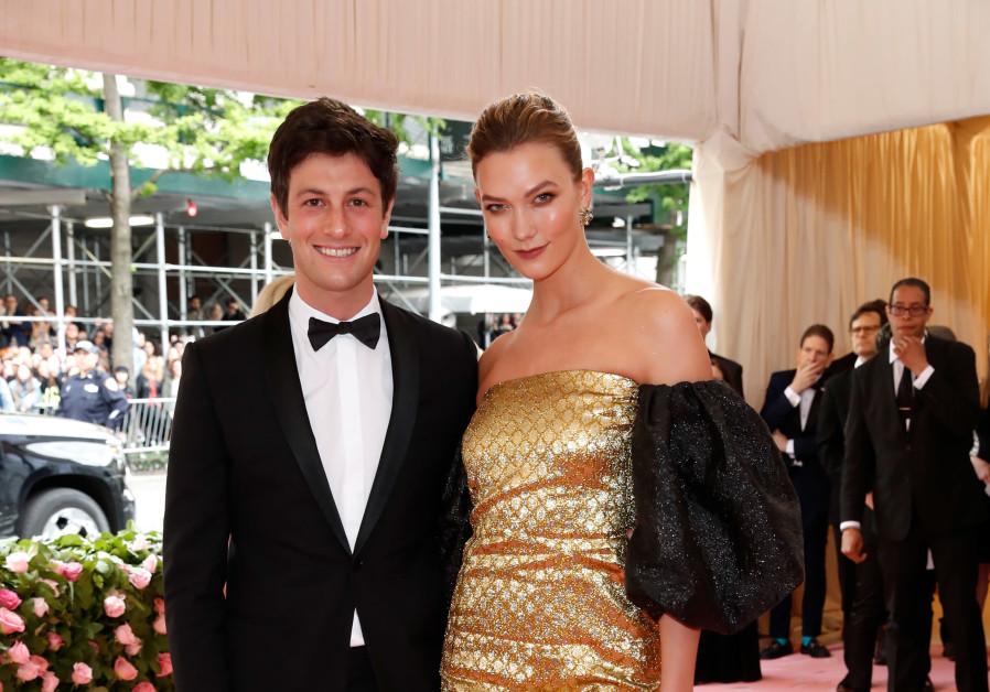 Joshua Kushner and Karlie Kloss at the Met Gala, May 6, 2019