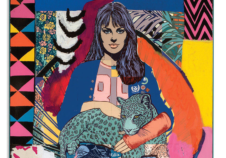 Irreverent curiosity: The New-York artist duo Faile present 'Where the Ends Meet'